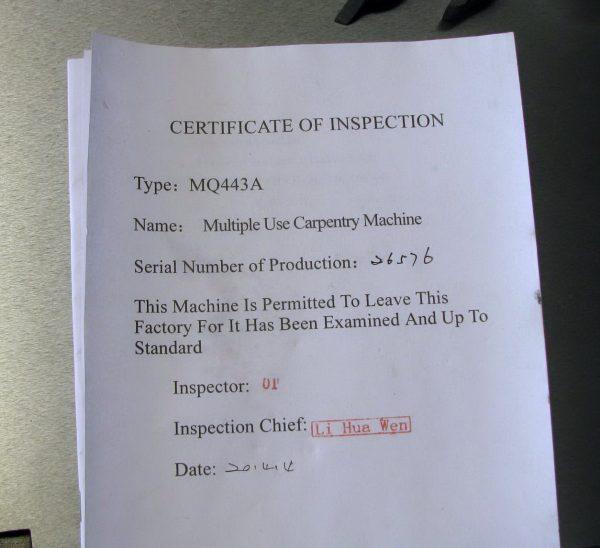 HI443A(MQ443A) Многофункциональный деревообрабатывающий станок. Любой станок только напрямую от производителя! www.vbobylev.ru Присылайте Тех. задание на адрес: vbobylev@mail.ru