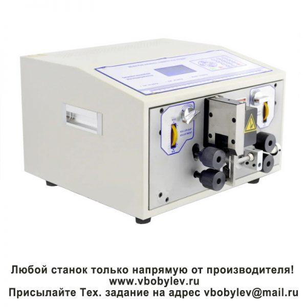 508-TZ Станок для резки и зачистки двойного коаксиального провода. Любой станок только напрямую от производителя! www.vbobylev.ru Присылайте Тех. задание на адрес: vbobylev@mail.ru