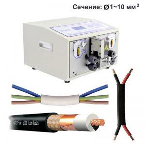 SWT508-HT, SWT508-HT2 Станок для резки и зачистки многожильного и коаксиального кабеля