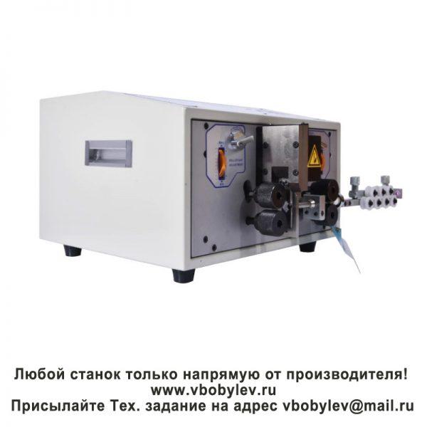 SWT508-JE Станок резки и зачистки проводов. Любой станок только напрямую от производителя! www.vbobylev.ru Присылайте Тех. задание на адрес: vbobylev@mail.ru