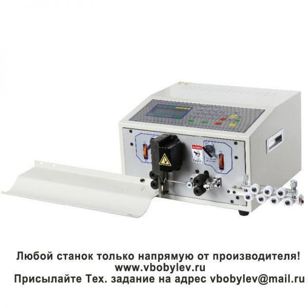 SWT508-SD Станок резки и зачистки проводов Любой станок только напрямую от производителя! www.vbobylev.ru Присылайте Тех. задание на адрес: vbobylev@mail.ru