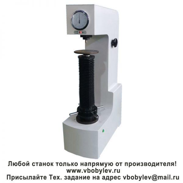 HRD-150B полуавтоматический твердомер Роквелла с электроприводом. Любой станок только напрямую от производителя! www.vbobylev.ru Присылайте Тех. задание на адрес: vbobylev@mail.ru