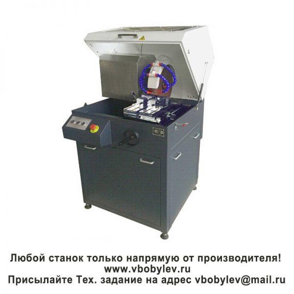 QG-100 Отрезной станок для резки металлографических образцов. Любой станок только напрямую от производителя! www.vbobylev.ru Присылайте Тех. задание на адрес: vbobylev@mail.ru