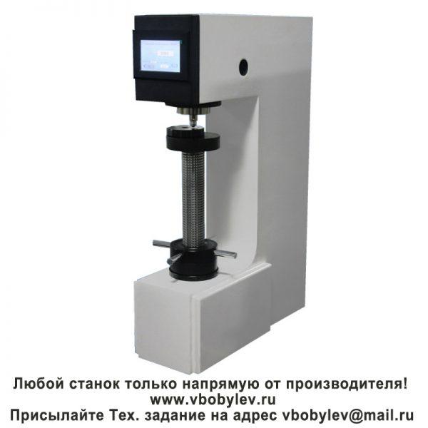 HBE-3000T электронный твердомер по Бринеллю с сенсорным экраном. Любой станок только напрямую от производителя! www.vbobylev.ru Присылайте Тех. задание на адрес: vbobylev@mail.ru