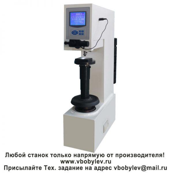 HBS-3000 электронный твердомер по Бринеллю. Любой станок только напрямую от производителя! www.vbobylev.ru Присылайте Тех. задание на адрес: vbobylev@mail.ru