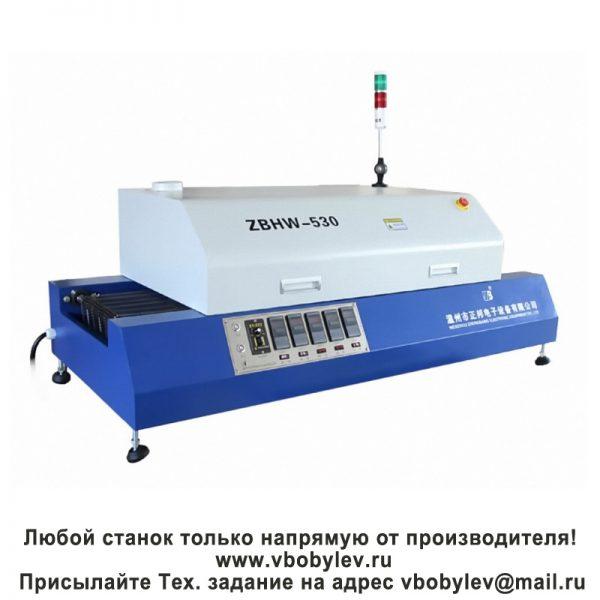 ZBRF-530 настольная конвейерная конвекционная печь, 5 зон нагрева. Любой станок только напрямую от производителя! www.vbobylev.ru Присылайте Тех. задание на адрес: vbobylev@mail.ru