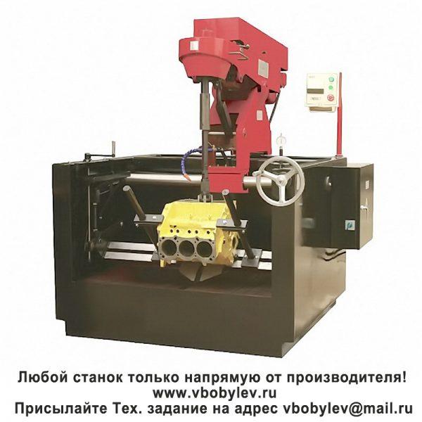3MB9817 станок для хонингования цилиндров. Любой станок только напрямую от производителя! www.vbobylev.ru Присылайте Тех. задание на адрес: vbobylev@mail.ru
