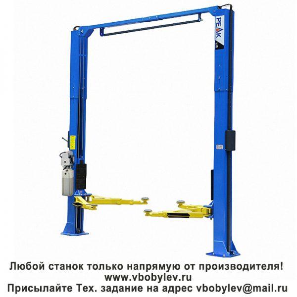 Peak 209CH Цепно-приводнойдвустоечный подъемник. Любой станок только напрямую от производителя! www.vbobylev.ru Присылайте Тех. задание на адрес: vbobylev@mail.ru