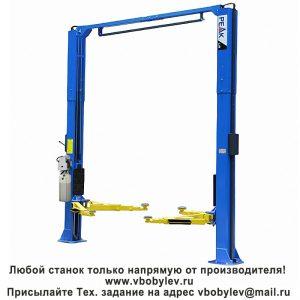 Peak 209SAC Цепно-приводнойдвустоечный подъемник. Любой станок только напрямую от производителя! www.vbobylev.ru Присылайте Тех. задание на адрес: vbobylev@mail.ru