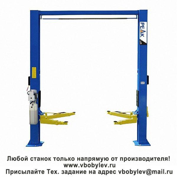 Peak 210SAC асимметричный двухстоечный подъемник. Любой станок только напрямую от производителя! www.vbobylev.ru Присылайте Тех. задание на адрес: vbobylev@mail.ru