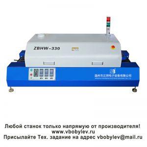 ZBHW-330 настольная конвейерная конвекционная печь. Любой станок только напрямую от производителя! www.vbobylev.ru Присылайте Тех. задание на адрес: vbobylev@mail.ru