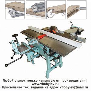 ML393AI многофункциональный деревообрабатывающий станок. Любой станок только напрямую от производителя! www.vbobylev.ru Присылайте Тех. задание на адрес: vbobylev@mail.ru