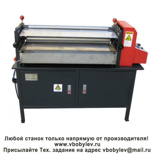станок для горячего нанесения клея. Любой станок только напрямую от производителя! www.vbobylev.ru Присылайте Тех. задание на адрес: vbobylev@mail.ru