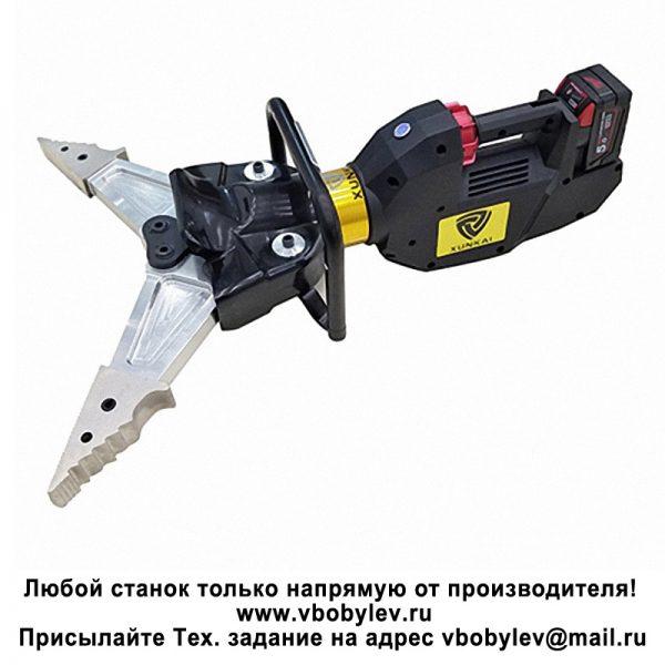 ESP660 аккумуляторныеразжим-ножницы. Любой станок только напрямую от производителя! www.vbobylev.ru Присылайте Тех. задание на адрес: vbobylev@mail.ru