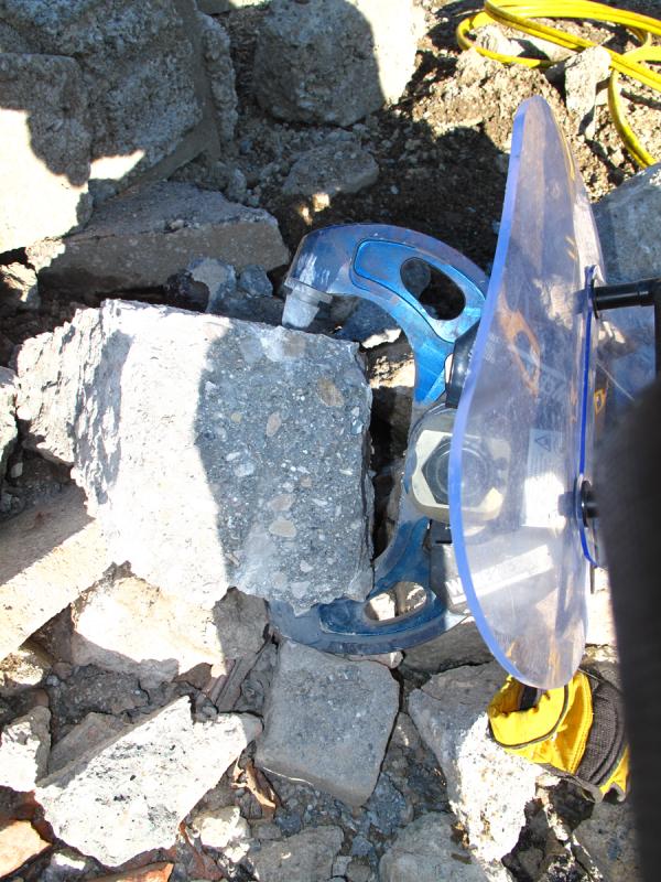 ECC310 Аккумуляторный разрушитель (измельчитель) бетона. Любой станок только напрямую от производителя! www.vbobylev.ru Присылайте Тех. задание на адрес: vbobylev@mail.ru