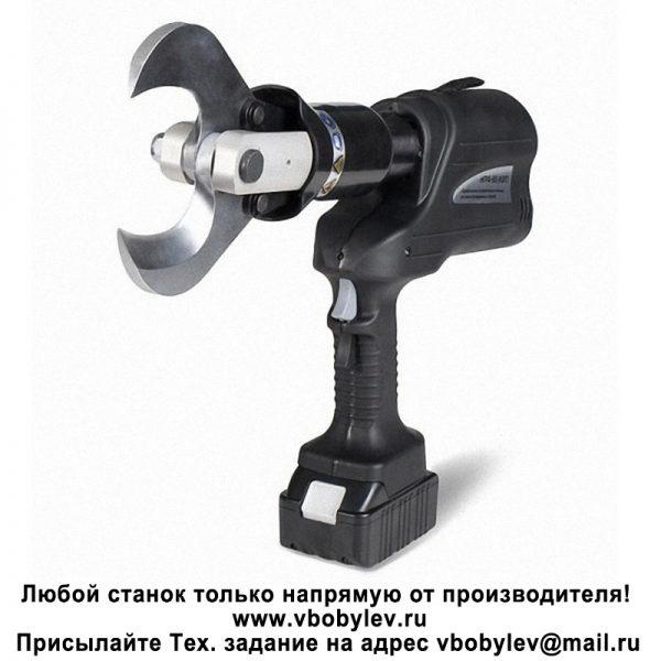 NC-65 Аккумуляторный гидравлический кабельный резак Любой станок только напрямую от производителя! www.vbobylev.ru Присылайте Тех. задание на адрес: vbobylev@mail.ru