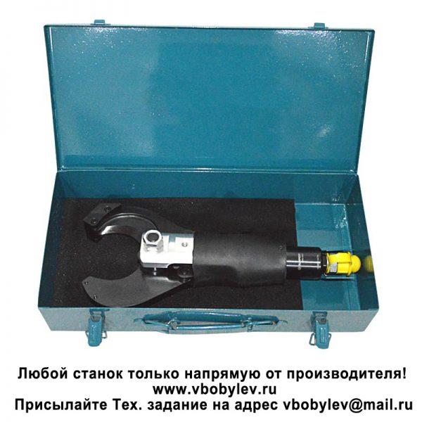 P-65C (CPC-65C) гидравлический кабельный резак, макс. Ø 65 мм. Любой станок только напрямую от производителя! www.vbobylev.ru Присылайте Тех. задание на адрес: vbobylev@mail.ru
