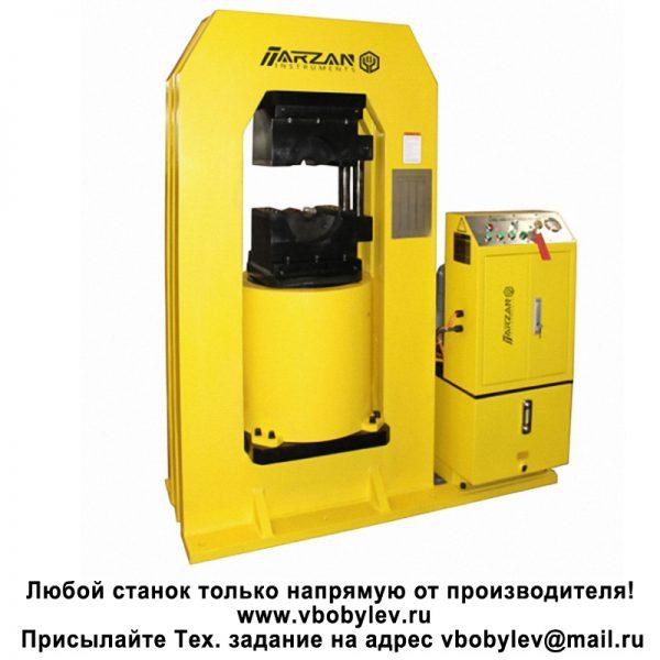 Прессы для опрессовки стальных стропов. Любой станок только напрямую от производителя! www.vbobylev.ru Присылайте Тех. задание на адрес: vbobylev@mail.ru