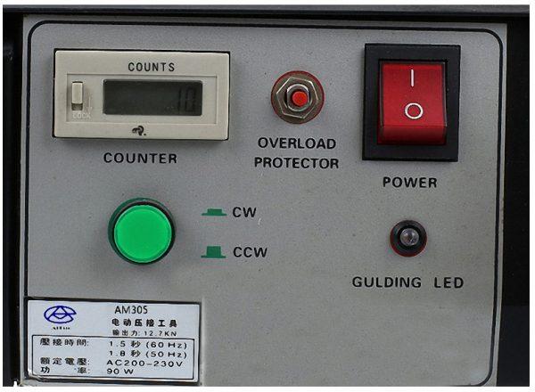 AM305 станок для резки, зачистки и опрессовки незакрепленных клемм. Любой станок только напрямую от производителя! www.vbobylev.ru Присылайте Тех. задание на адрес: vbobylev@mail.ru