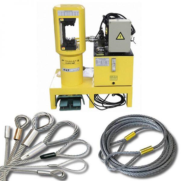 KET-YTJ-100-2000 тонны гидравлический пресс для опрессовки стальных стропов