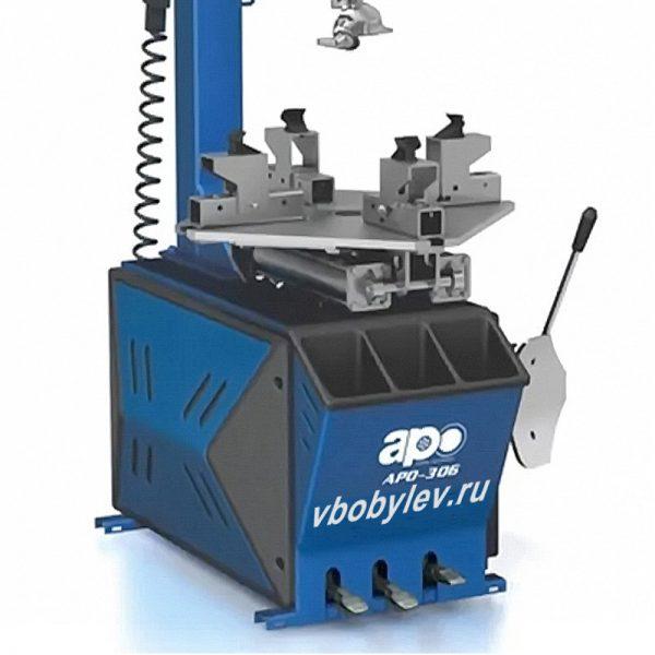 APO-306 полуавтоматический шиномонтажный станок с поворотной консолью. Любой станок только напрямую от производителя! www.vbobylev.ru Присылайте Тех. задание на адрес: vbobylev@mail.ru