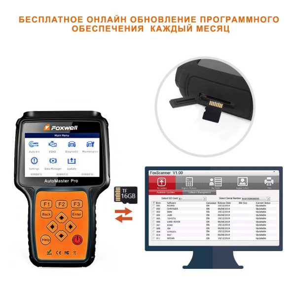 FOXWELL AutoMaster NT680 Pro автосканер. Любой станок только напрямую от производителя! www.vbobylev.ru Присылайте Тех. задание на адрес: vbobylev@mail.ru