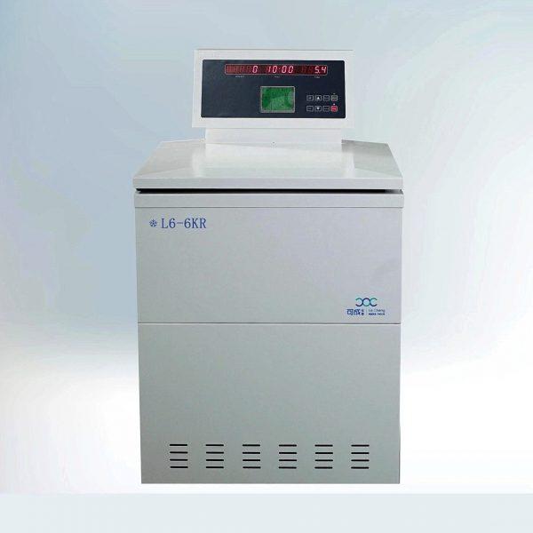 L6-6KR Центрифуга с охлаждением для пакетов с кровью